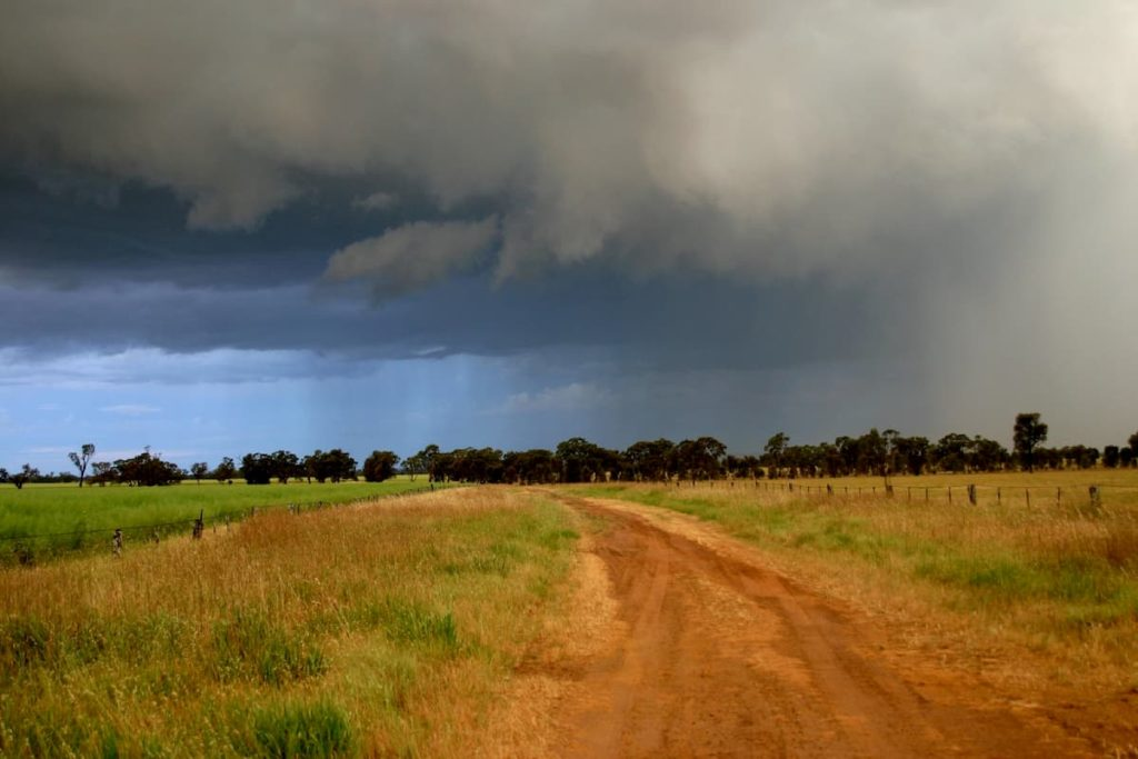 Weather in front Coming on Strong - Eyes Up and Always Looking For Trouble - What Does Cowboy Camping Mean in Backpacking