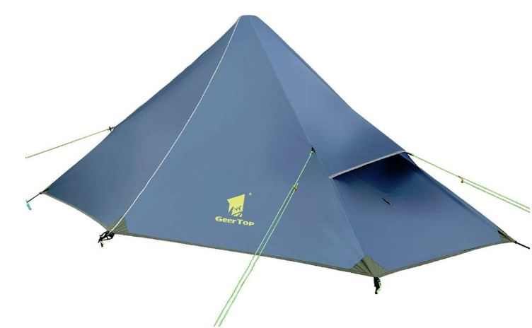 Geertop 1 Person Lightweight Camp System - What is Backpacking Base Weight