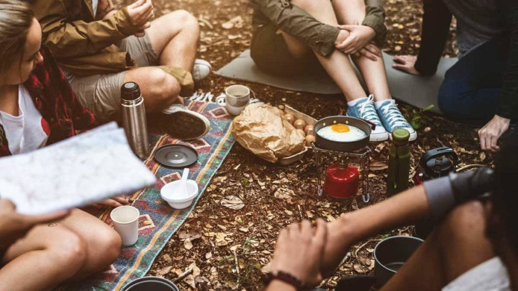 Helpful Tips For First Time Thru-Hikers - Camp Food