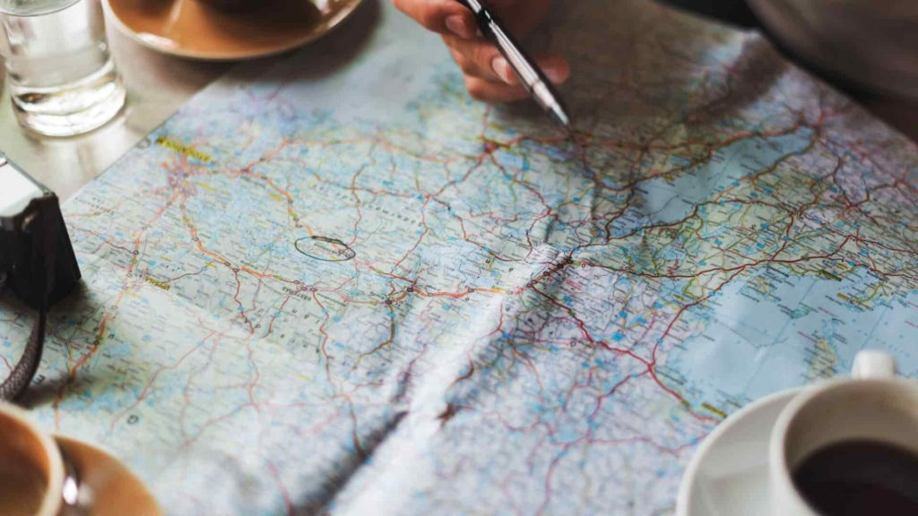 Paper maps are sometimes invaluable to have on hand - Thru Hikers Checklist