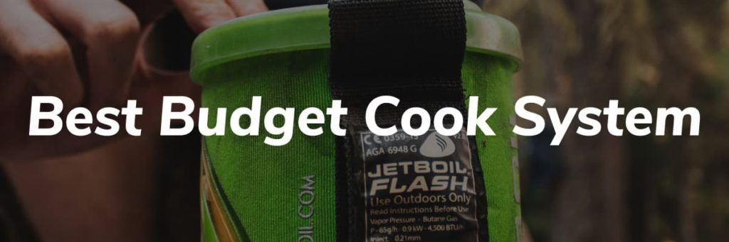 Best Budget Cook System Header - Pacific Crest Trail Thru Hike Gear List