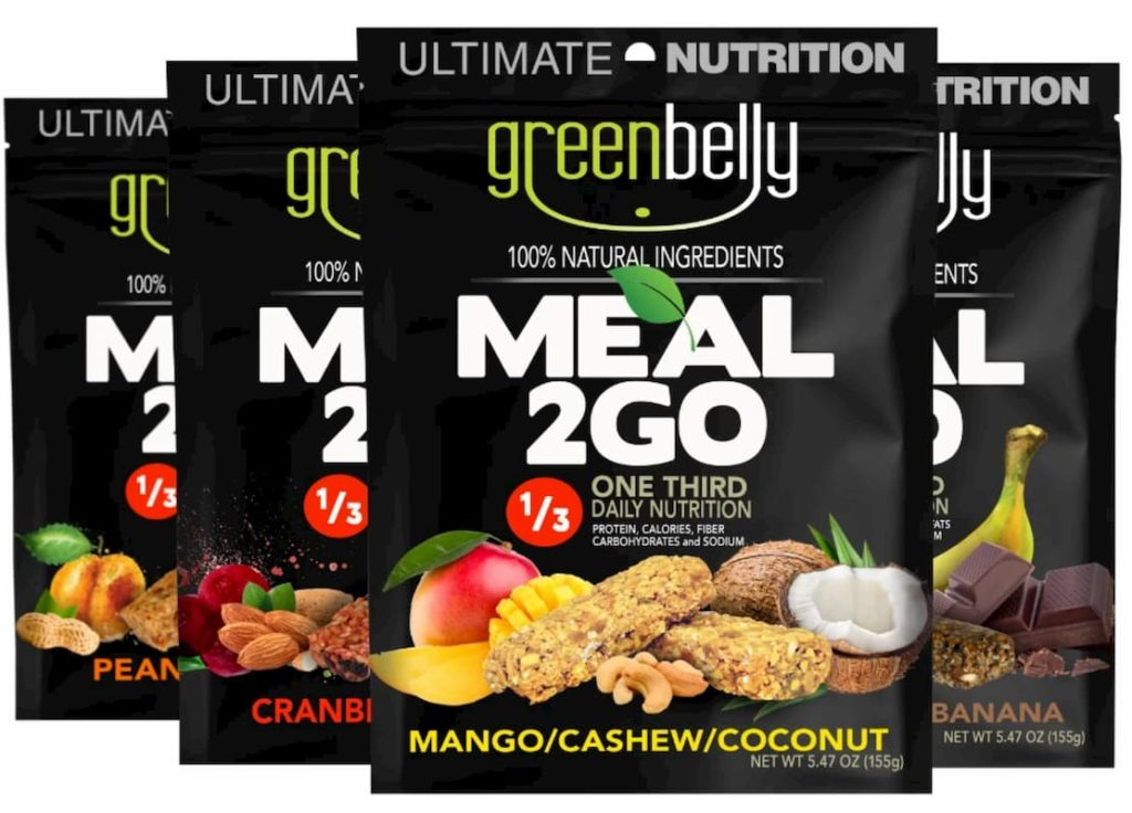 Four different Meal2Go Options - Greenbelly Meal2Go Review