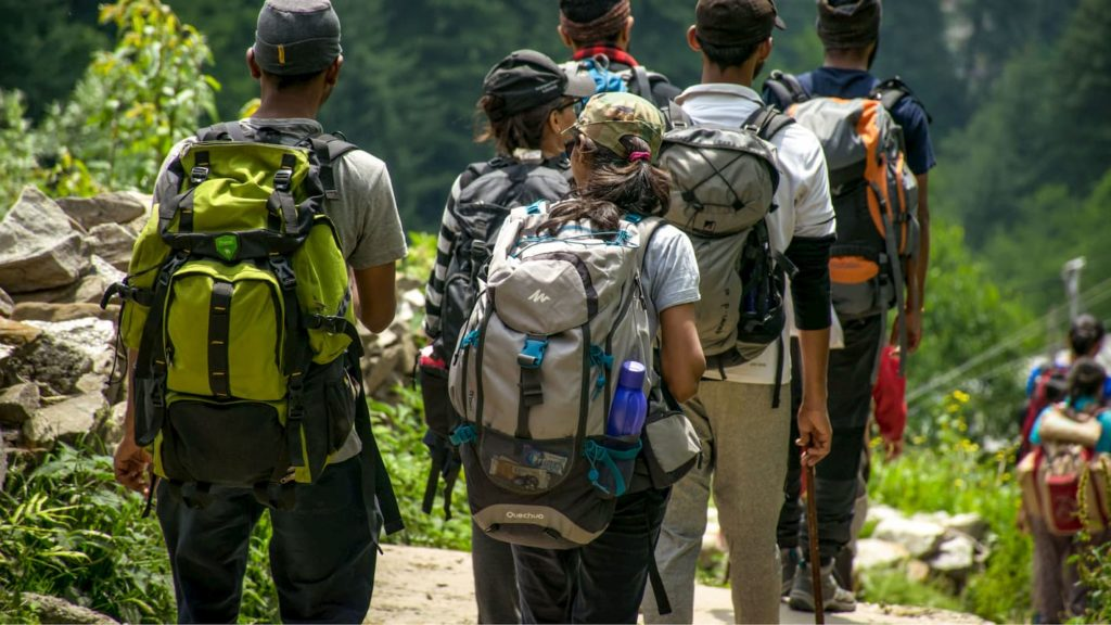 Hikers out on the trail as a group - Why Get Thru-Hike Health Insurance