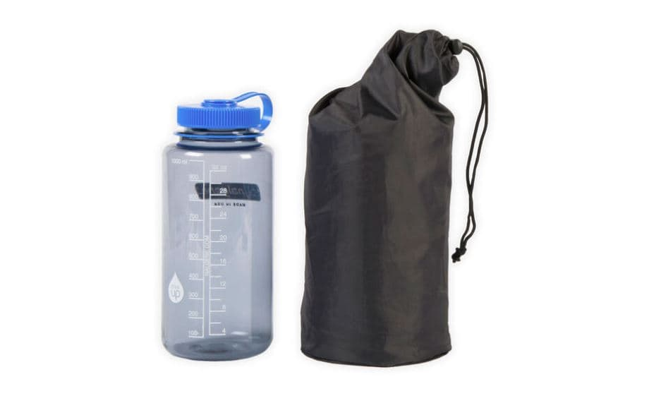 The NeoAir XTherm is small as a nalgene bottle - Therm-A-Rest NeoAir XTherm review