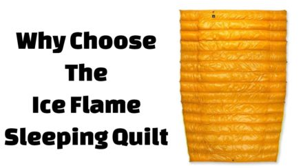 Ice Flame Quilt Review: Best Backpacking Quilt for Your Money